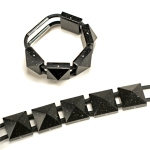 Corian Pyramid Bracelet -- All Views