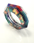 Faceted Hinged Bracelet 3