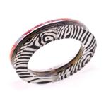 Hinge Bracelet B&W side