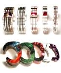 Layered Acrylic Cuff Bracelets
