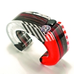 Layered Acrylic Graphic Cuff