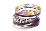 Stacked Hinge Bracelets