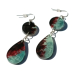 Teardrop Double Dangle Earrings