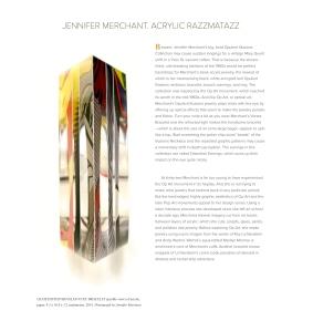 Jennifer Merchant Acrylic Razzmatazz Ornament Magazine